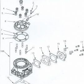 DVS CYLINDER AND HEAD PARTS