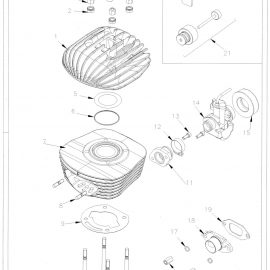 CYLINDER AND HEAD PARTS
